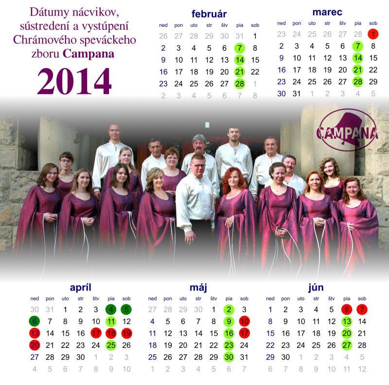 kalendárik pre zboristov