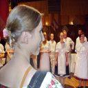spevácky zbor Campana s dirigentkou Terkou