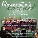 Novoročný koncert v Kalinove 3.1.2015 o 17.30 hodine v kostole Povýšenia sv. Kríža - Campanella, Campana, Mária Budáčová